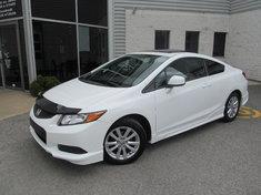 Honda Civic Cpe EX-Kit de jupe-Garantie prolongée-Véhicule unique 2012