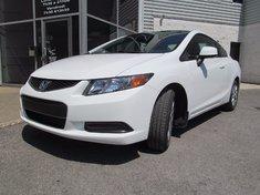 Honda Civic Cpe LX-Garantie 10 ans ou 200.000km 2012