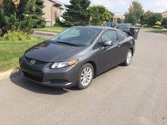 Honda Civic Cpe EX+Toit ouvrant+Impeccable+Avoir 2012