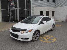 Honda Civic Cpe SI + garantie 10ans/ 200,000 km 2012