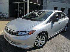 Honda Civic Dx-financement 1.9%-Garantie jusqu'a 200.000km 2012