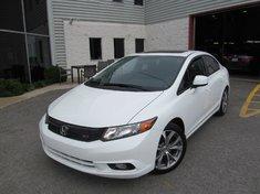 Honda Civic SI-Ivtec 2.4l-Garantie prolongée jusqu'en mai 2019 2012
