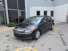 Honda Civic LX-Le moins cher au québec 2012