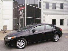 Honda Civic EX+Toit-ouvrant+Bluetooth+Garantie jusqu'A 200.000 2012
