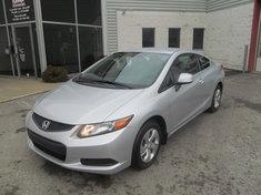 Honda Civic LX+ GARANTIE 10ANS/200,000KM 2012