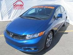 Honda Civic SI BERLINE + GARANTIE 10 ANS/200.000KM 2012