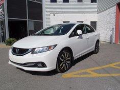 Honda Civic Touring-Cuir-Navigation 2013