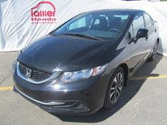 Honda Civic EX BERLINE + GARANTIE 10 ANS/200.000KM 2013