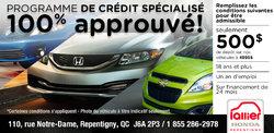 Programme de crédit spécialisé d'Honda