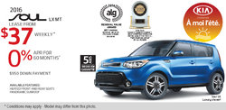 Lease the New 2016 Kia Soul Today!